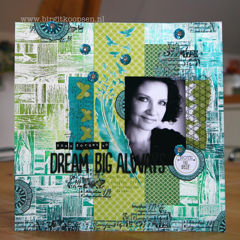 Dream Big Always - Carabelle Studio - Birgit Koopsen1