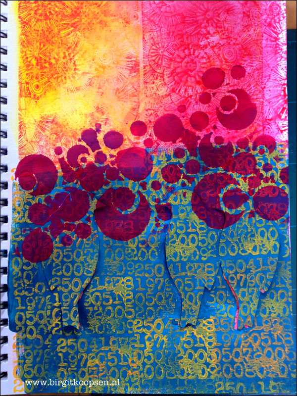 Happy art journal-Carabelle-BirgitKoopsen-3