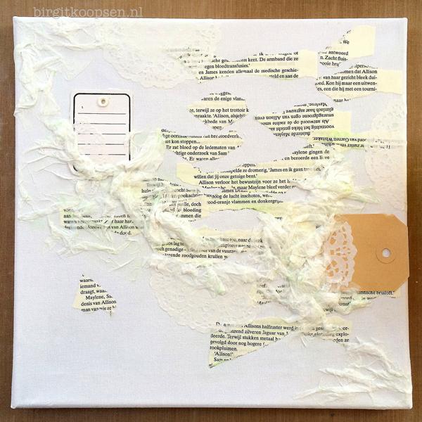 Textured canvas - birgit koopsen for Carabelle Studio - step 1