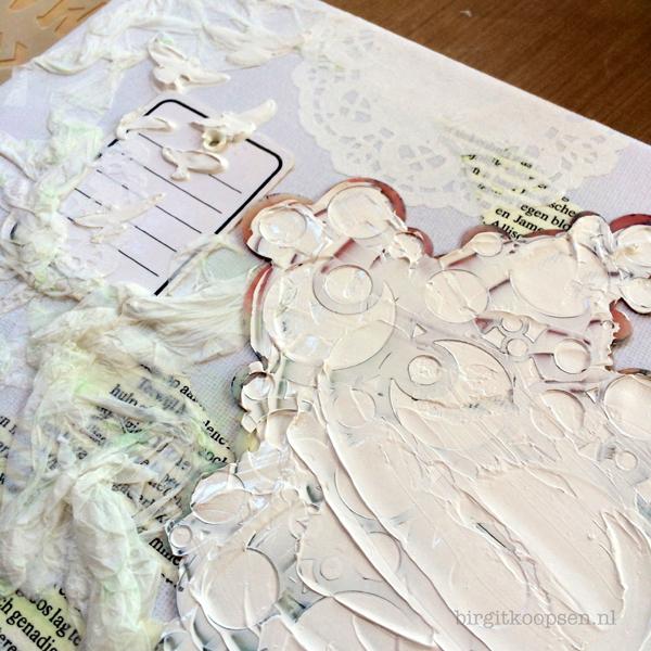 Textured canvas - birgit koopsen for Carabelle Studio - step 2