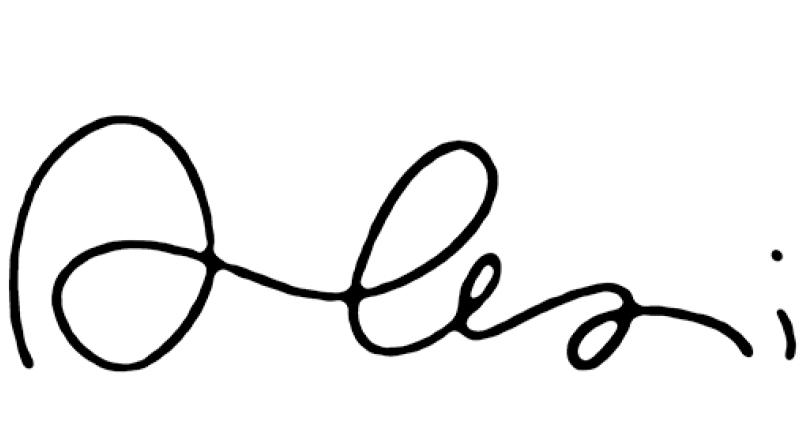 Signature Alexis