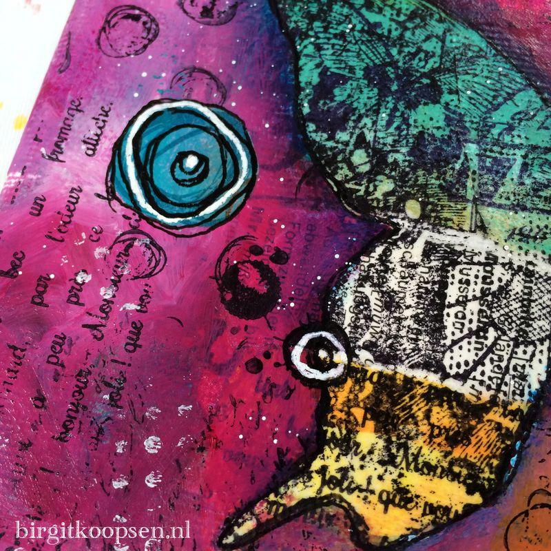 Stand out collage canvas detail3 - birgit koopsen