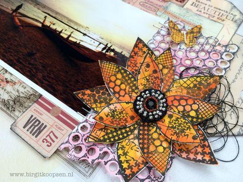 Birgit Koopsen - my stamps with Carabelle - Hawaiian sunset.detail1