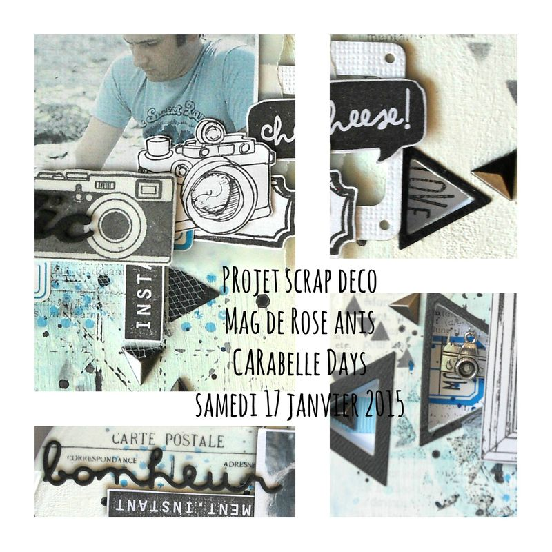 Collage CD avec texte