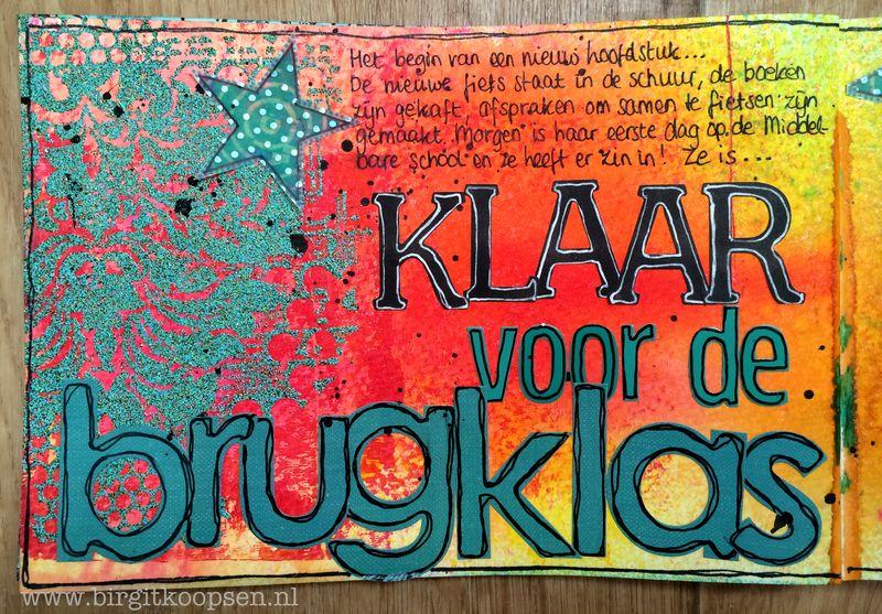Birgit Koopsen - my stamps with Carabelle - Brugklas left side