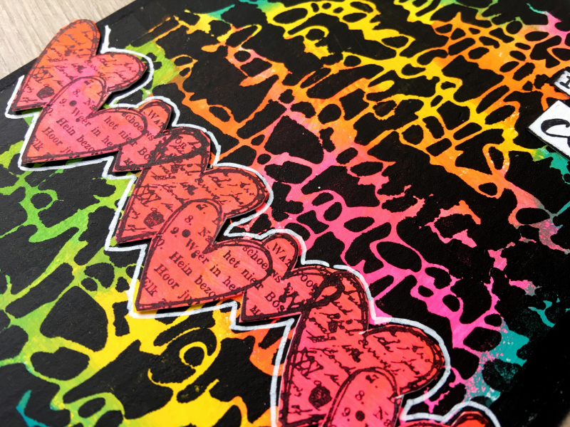 True colors card detail